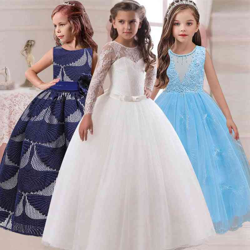 Petals Long Sleeves Ball Gown