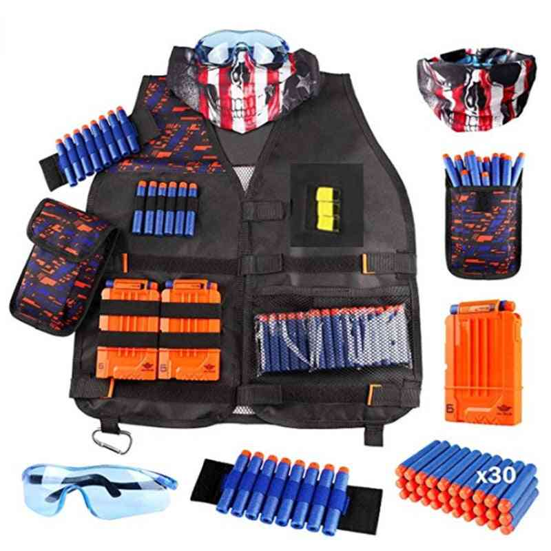 Nerf Tactical Gun, Magazine Bullet, Clip Outdoor Toy Accessories