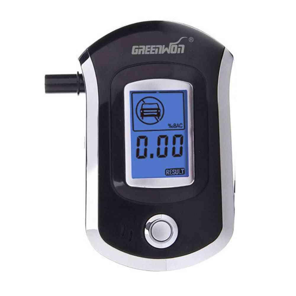 Mini Digital Lcd Screen, Breath Alcohol Tester