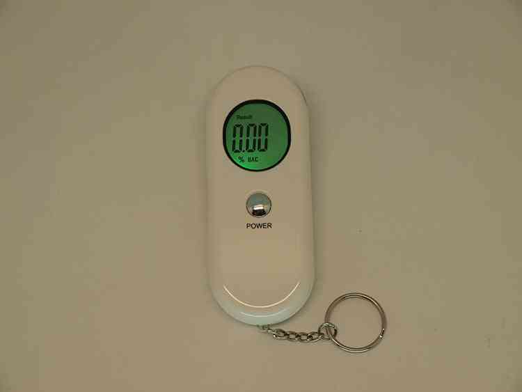 Alcohol Breath, Device Lcd Screen, Analyzer Detector Tester (white)