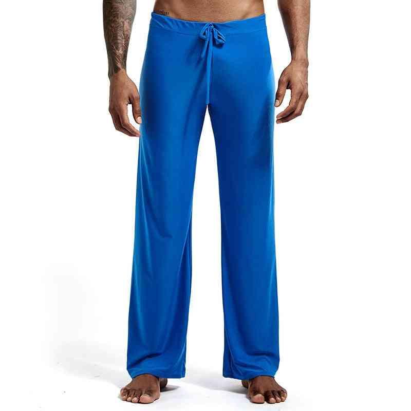 Casual Soft, Sleep Bottoms, Lacing Loose Lounge, Trousers Pajama