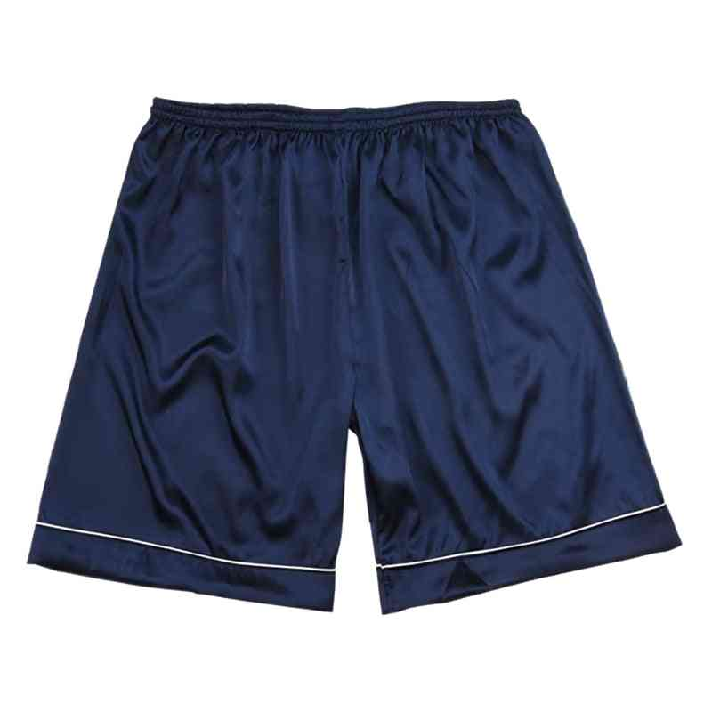 Silk Satin Pajamas Sleepwear, Casual Home Wear Shorts Sleep Bottoms