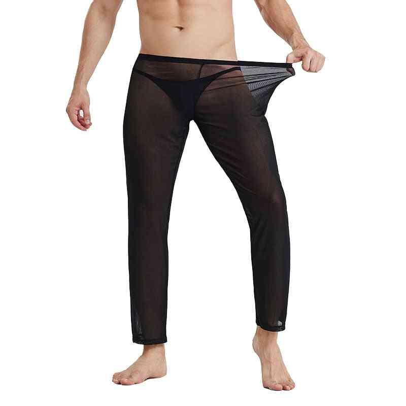 Pajamas Ropa Interior Hombre See Through Underwear Sleepwear