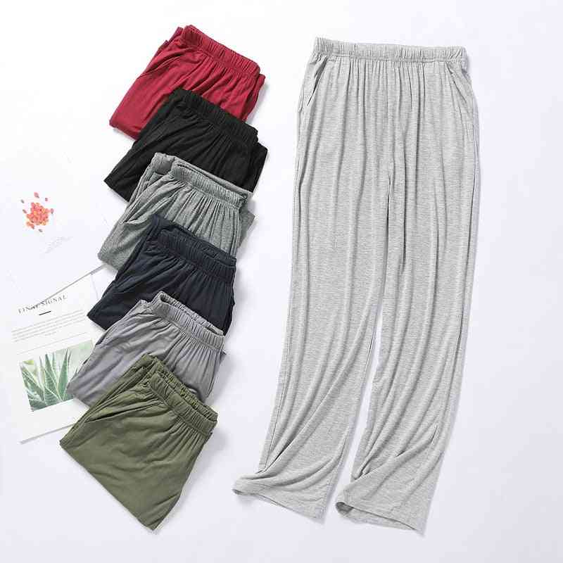 Men's Trousers Thin Section Spring And Summer Home Pajama Pants