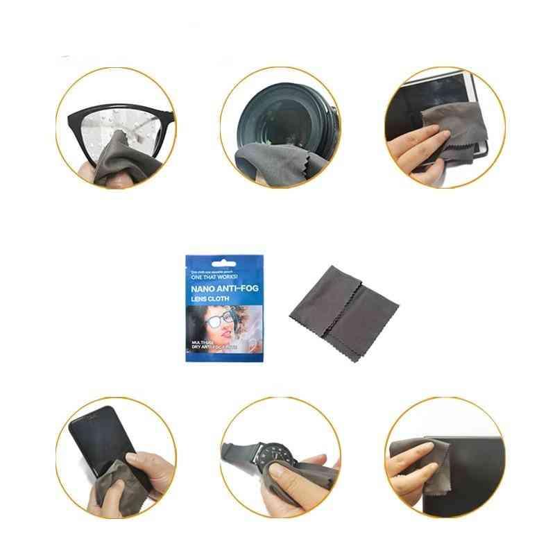 Microfiber Fabric Eyeglasses Anti-fog Cloth