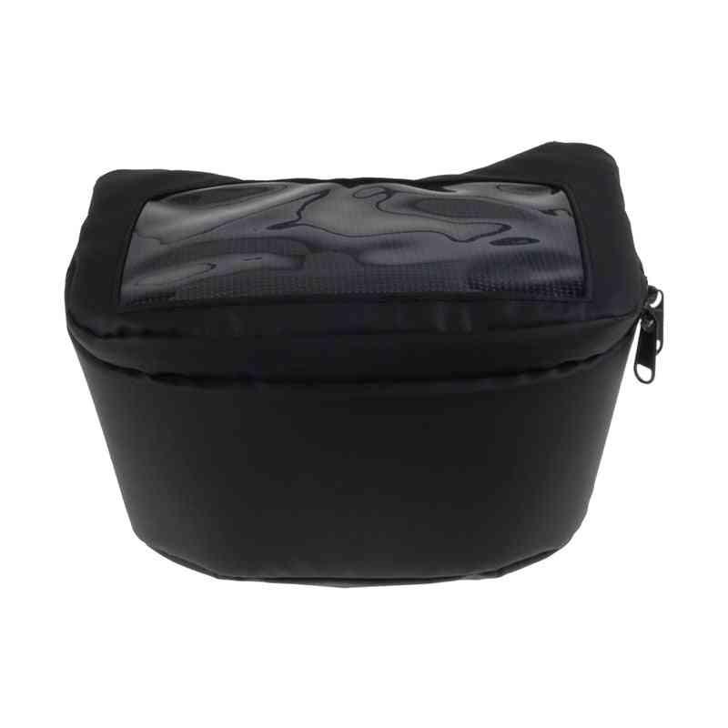 Motorcycle Handlebar Fuel Tank Bag, Windscreen Bags