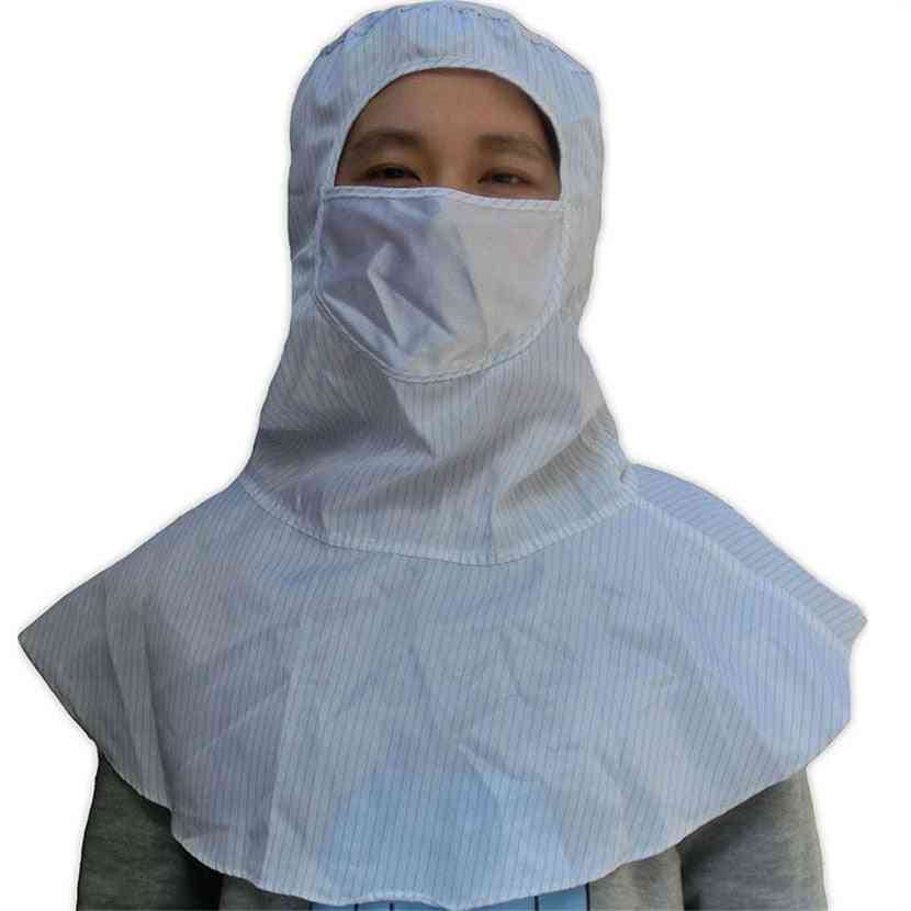Esd Spray Painting Protective Cleanroom Dustproof Shawl Hat