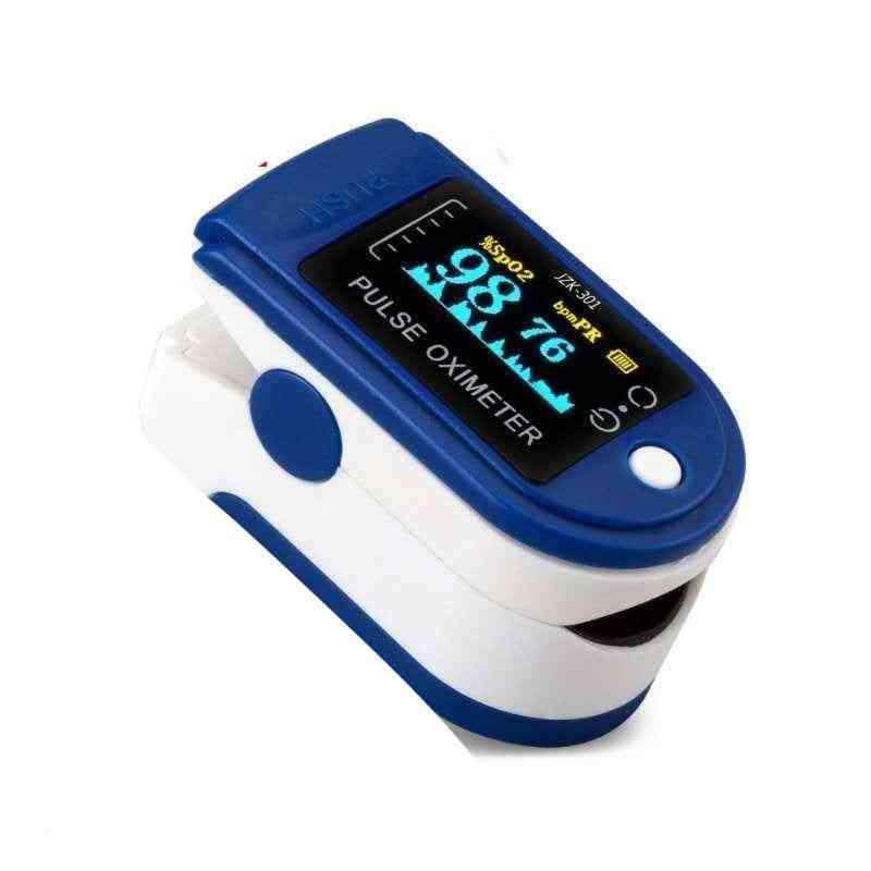 Fingertip Pulse, Blood Oximeter Clip