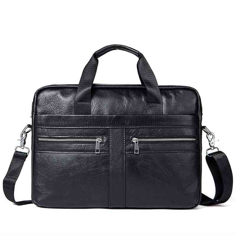 Genuine Leather- Messenger & Laptop Briefcase, Office Bags