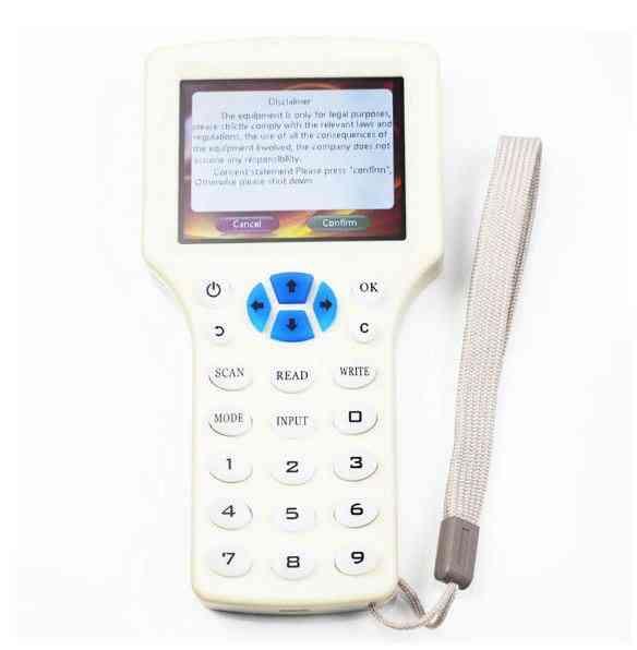English Super, Handheld Rfid, Nfc Copier Reader, Writer Cloner, Changeable Card