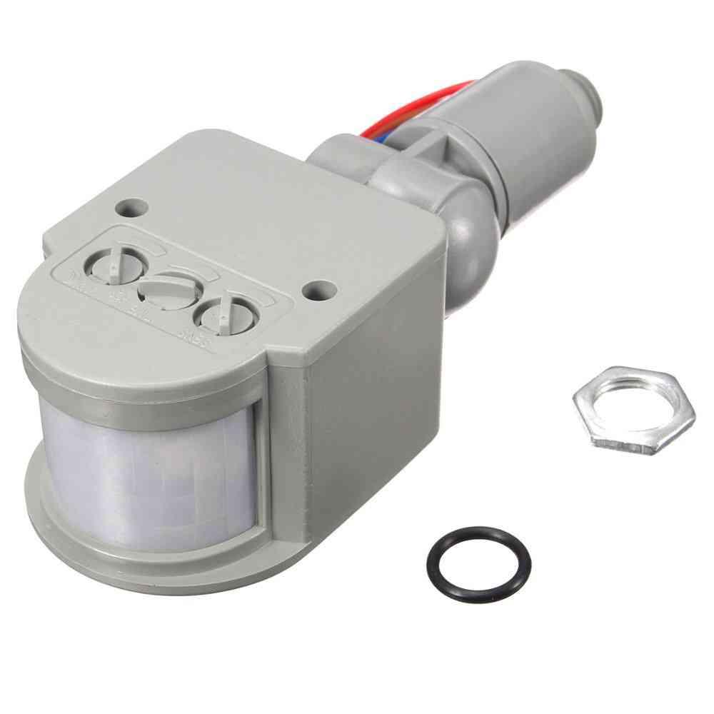 Smart Infrared Pir Motion 110v-240v 12m Sensor Detector
