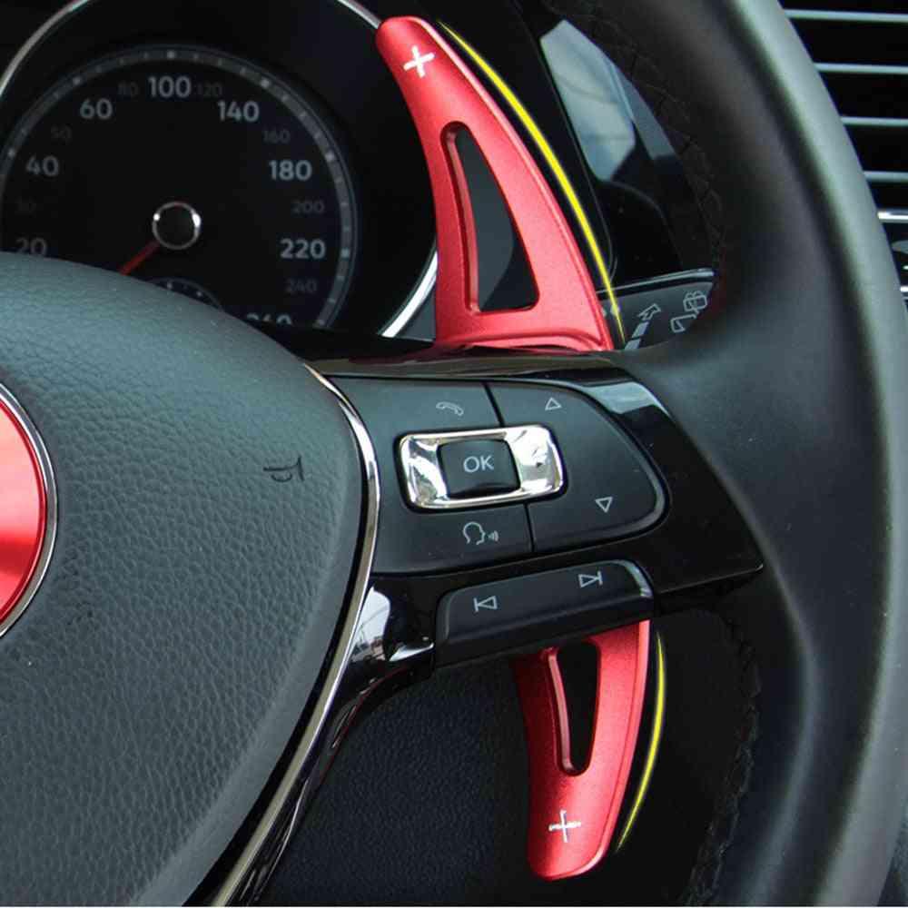 Car Steering Wheel Extension Shifter Aluminum Dsg Gear Shift