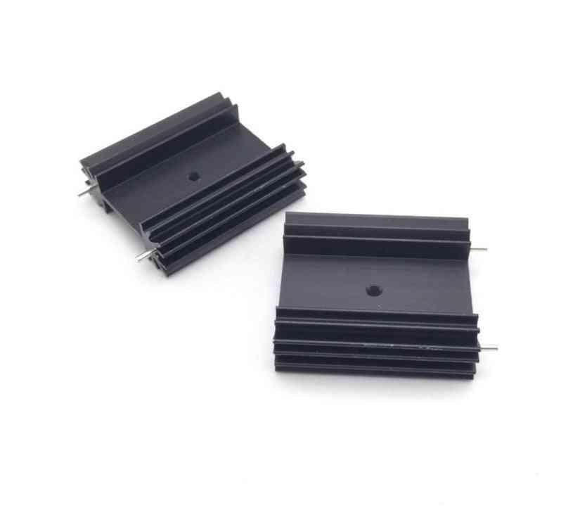 Heat Sink For Audio Cooling Block Radiator / Transistor Heatsink Block