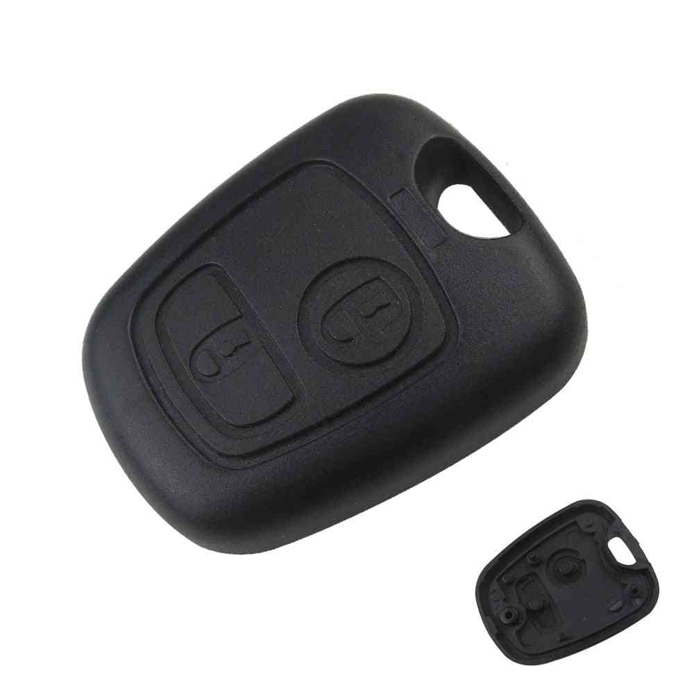 Front Car Key, Case Cover With 2-switches Without Blade