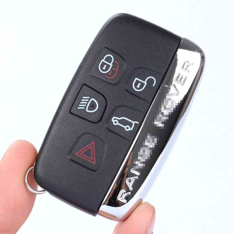 Five-button Car Smart Card Remote Control Key Shell Suit For Land Rover