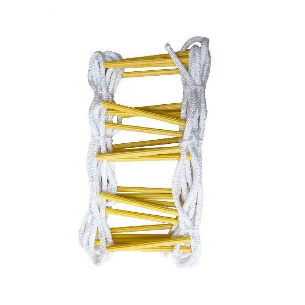 High Strength Fire Fighting Folding Nylon Ladder