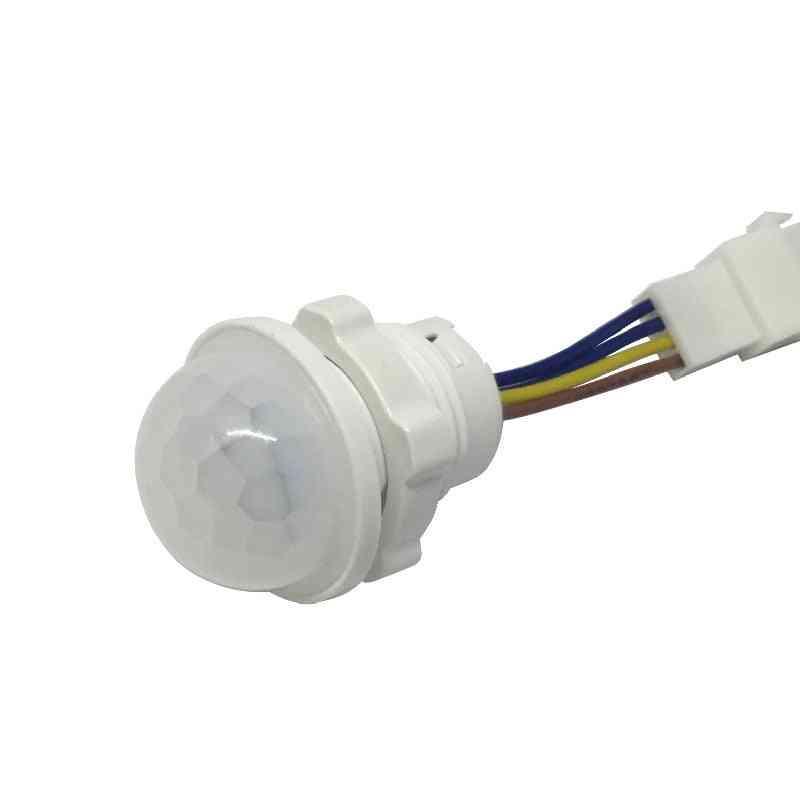 Motion Sensor Time Delay Home Lighting Pir Switch Led Sensitive Night Lamp