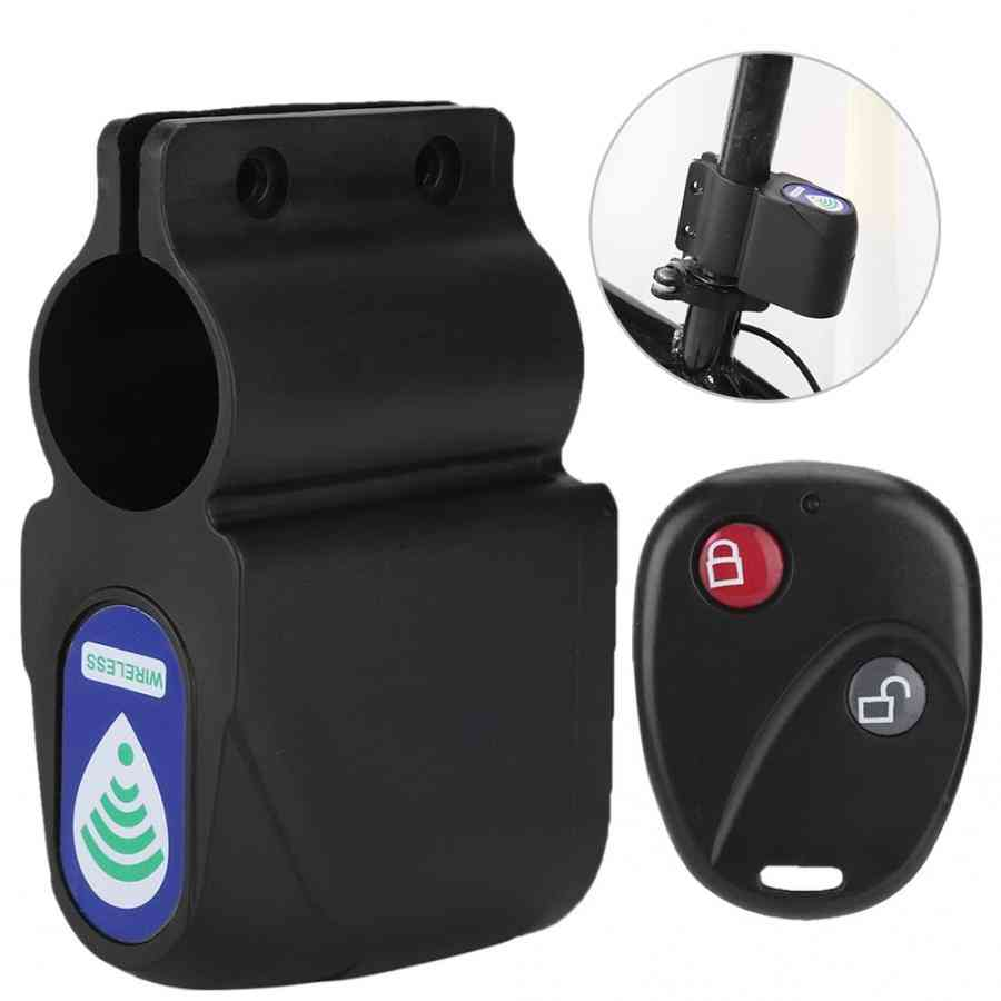 Wireless Remote Control, Bicycle Alarm Shock, Vibration Sensor, Cycling Lock