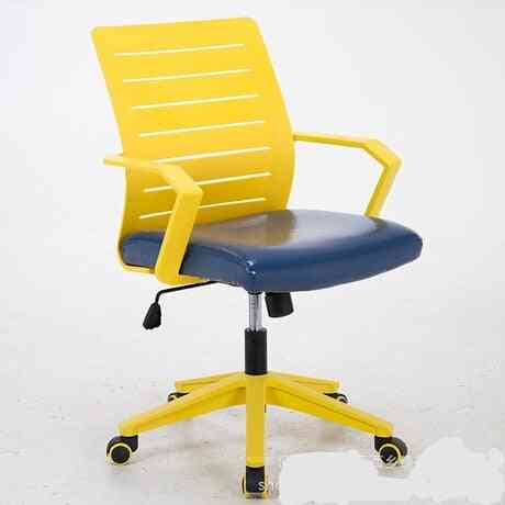 Minimalist Modern, Leather Chassis Ergonomic Chair