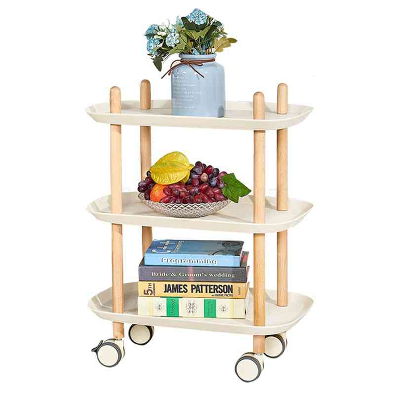 Mobile Rafter Cart Nail Salon Beauty Storage Multifunctional Cart Abs Rack