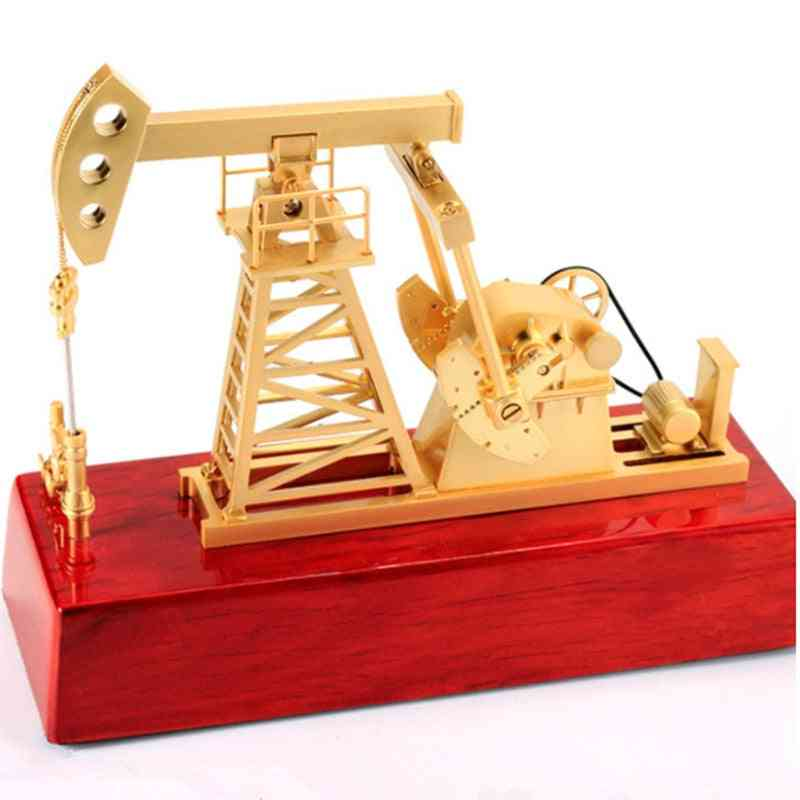Oilfield Oil Extractor Pumping Unit Model, Metal Crafts For Decoration