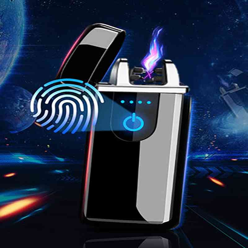 Rechargeable Dual Arc Usb Electric Lighter, Plasma Flameless