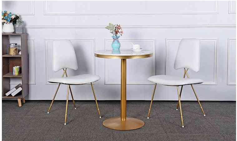 Small Round Tea Shop Tables And Chair