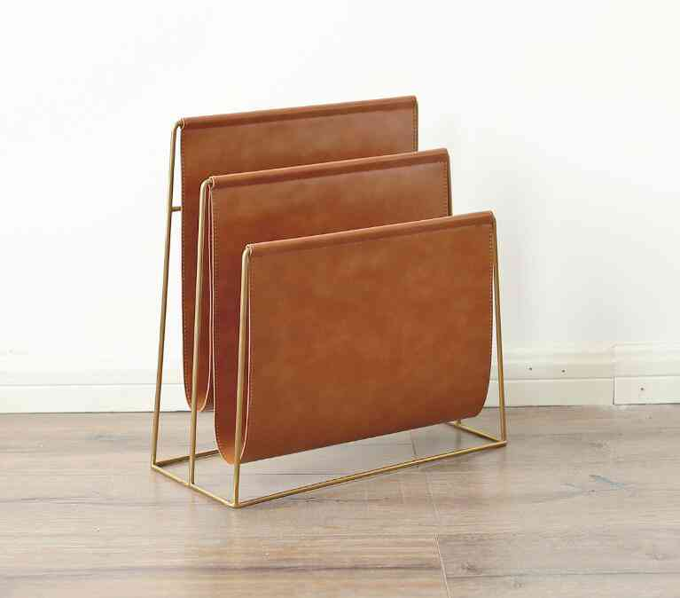 Home Office Placement Magazine Holder Stand