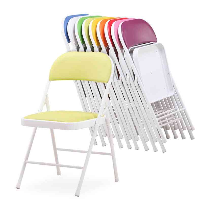 Portable Metal Folding, Conference Stylish, Leisure Chair