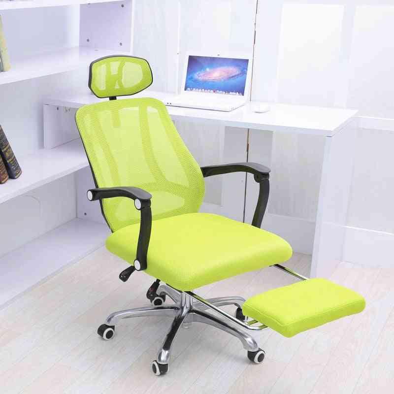 Multifunctional Adjustable- Soft Cushion, Headrest Computer Chair