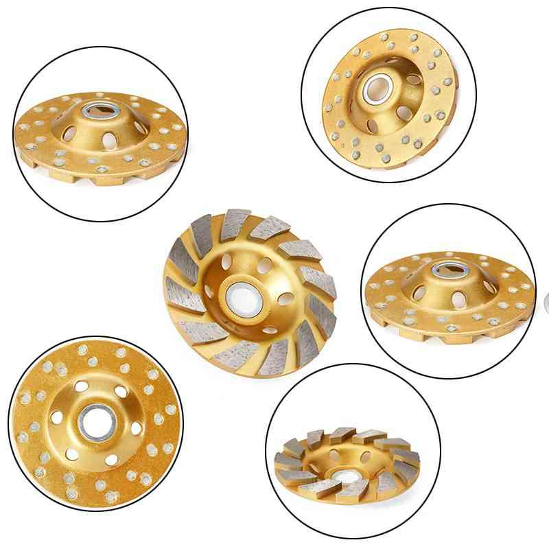Diamond Grinding, Wheel Disc, Bowl Shape Cup, Concrete Granite, Stone Ceramics Tools