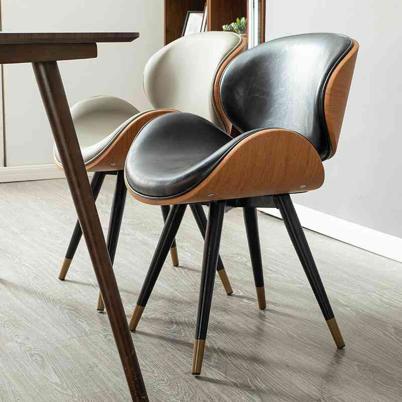 Nordic Dining Modern Minimalist Home Leisure Chair