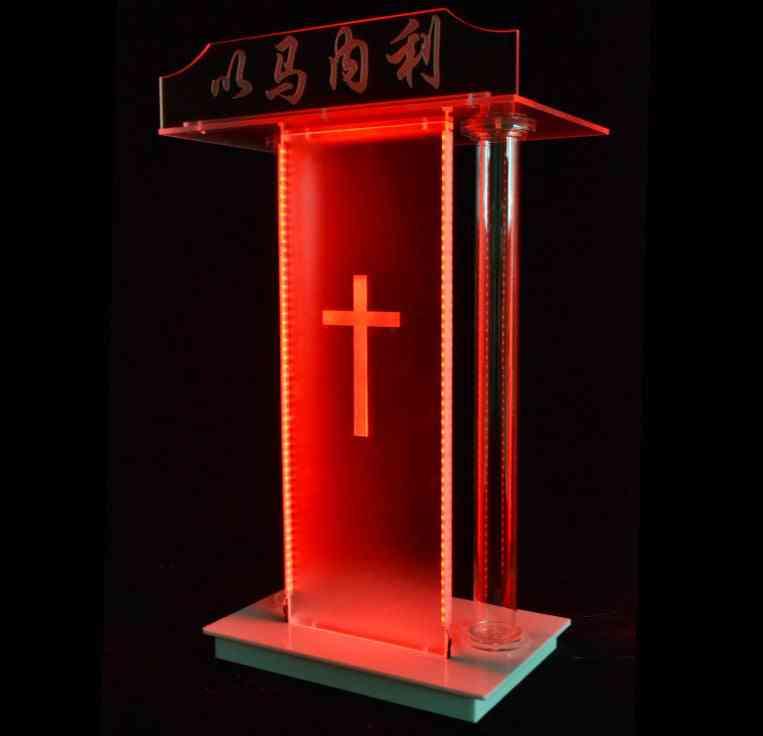 Acrylic Lectern Church Podium