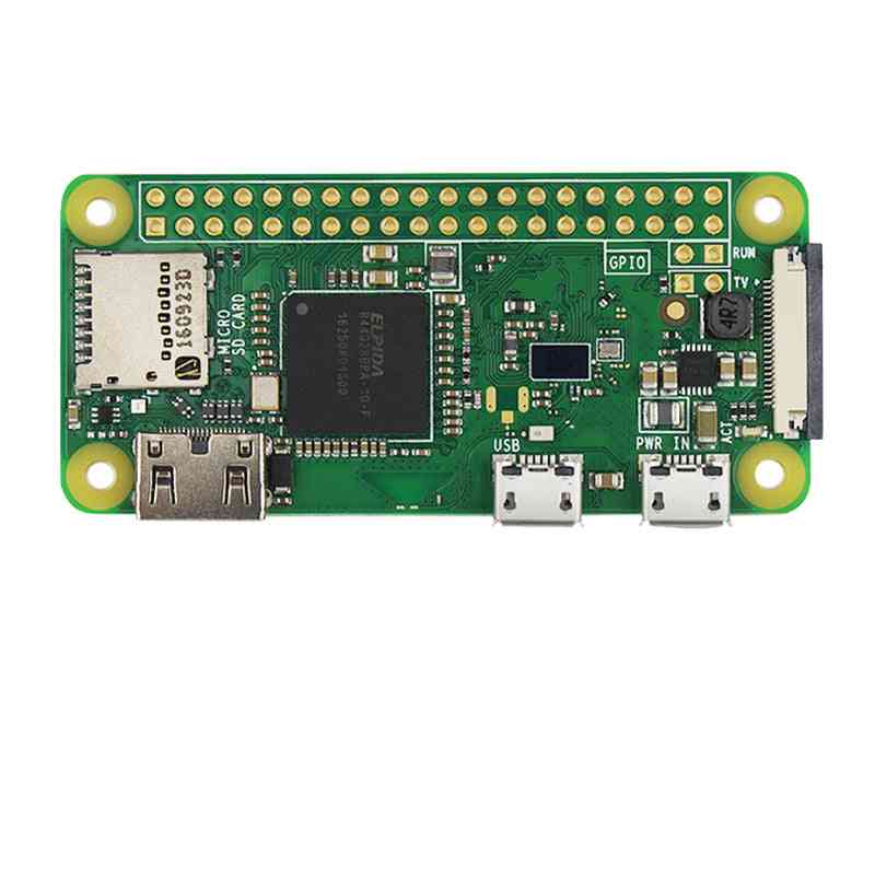 Pi Zero W Board, 1ghz Cpu 512mb Ram With Built-in Wifi & Bluetooth Rpi 0 W