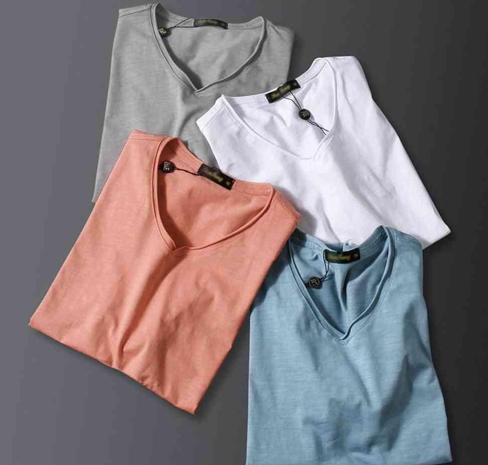 Men Casual Sleepwear Short Sleeve, Loose Nightwear Shirt