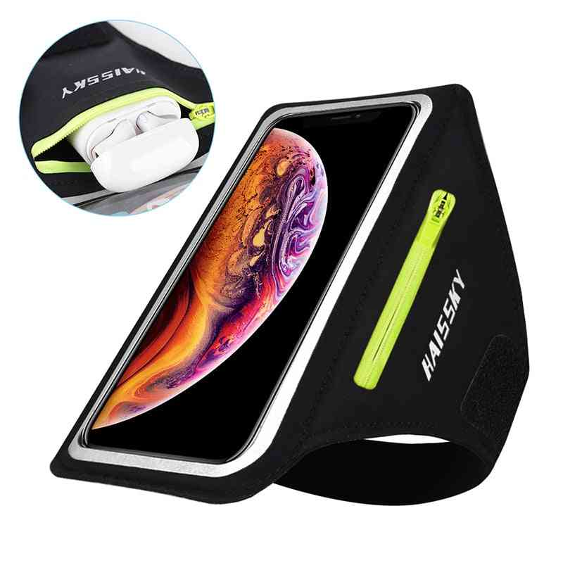 Running Sports Phone Case On Hand, Mobile Holder - Armbands