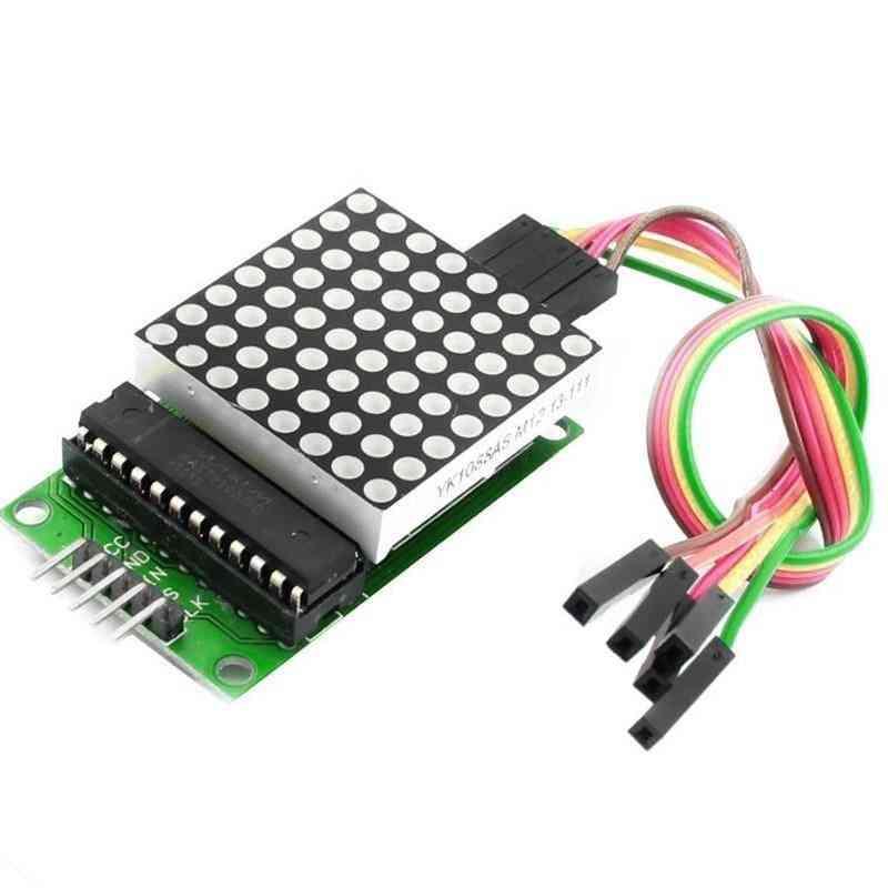 Led Display, Dot Led Matrix, Mcu Control Module