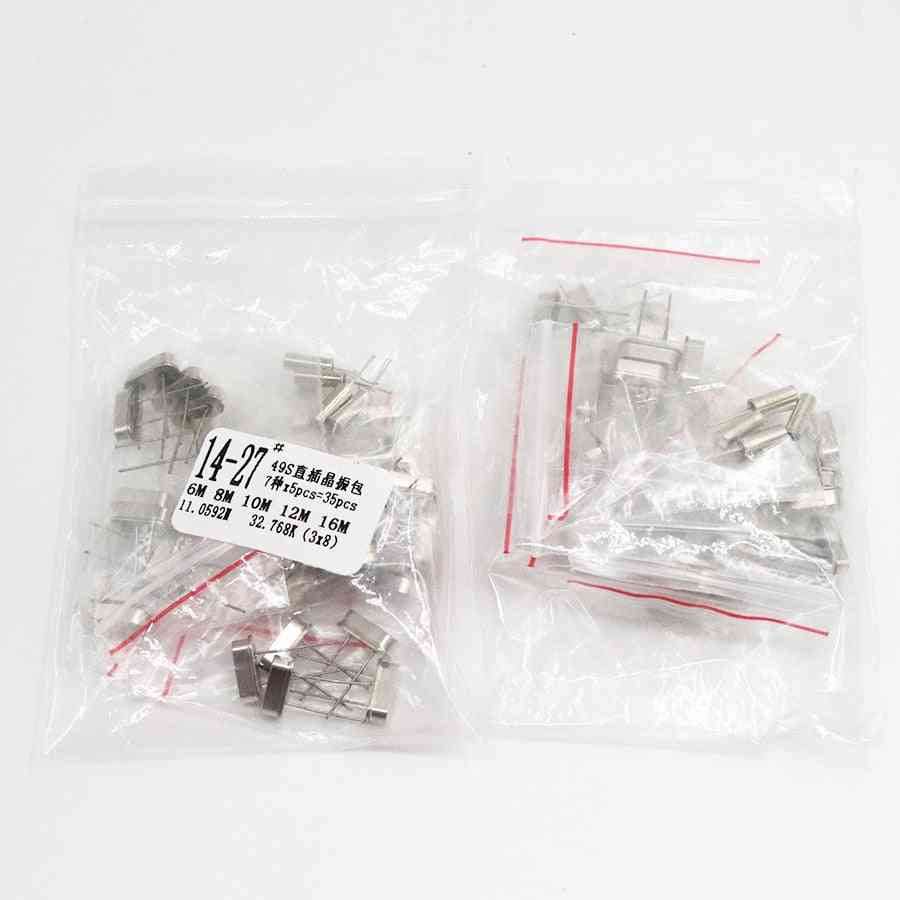 Crystal Oscillator, Ceramic Quartz, Resonator Electronic Kit