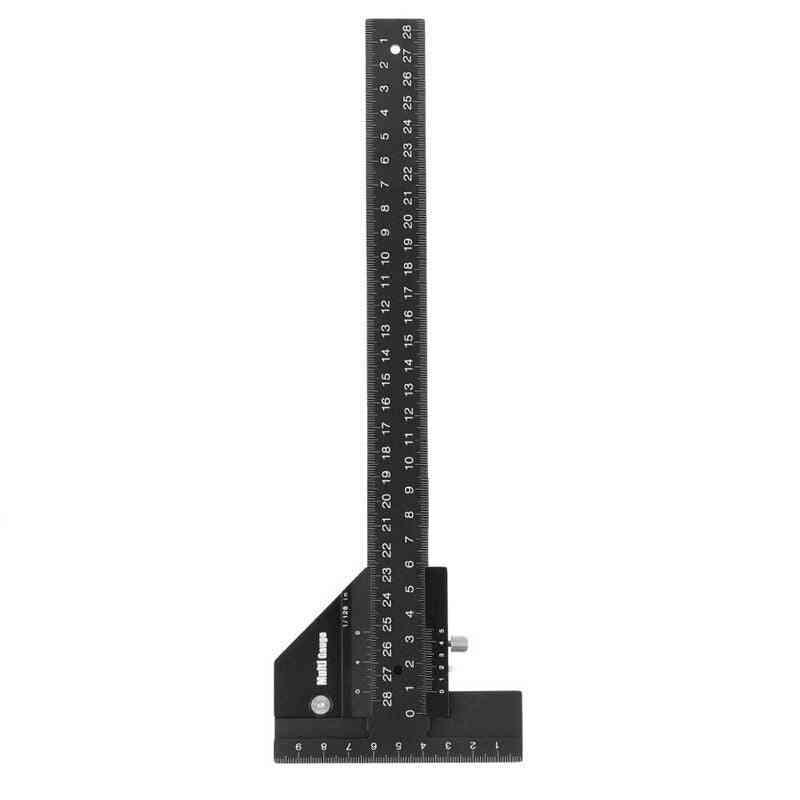 Aluminum Steel- Measuring Marking, Framing Ruler, Scriber Gauge Tools