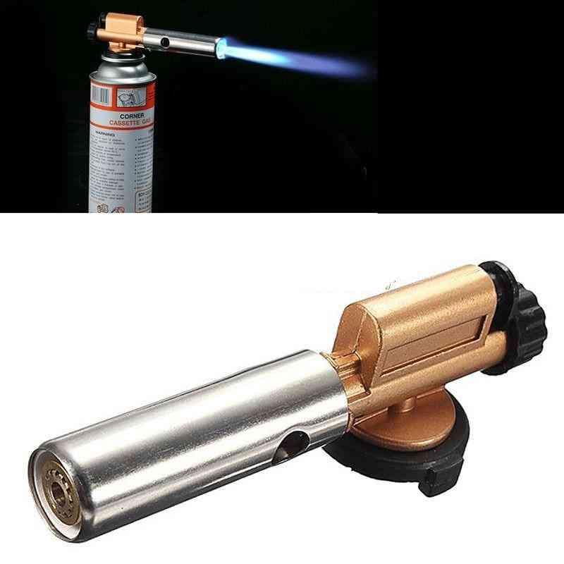 Jet Flame Maker Lighter Gun Butane Weld Burner Portable Gas Torch