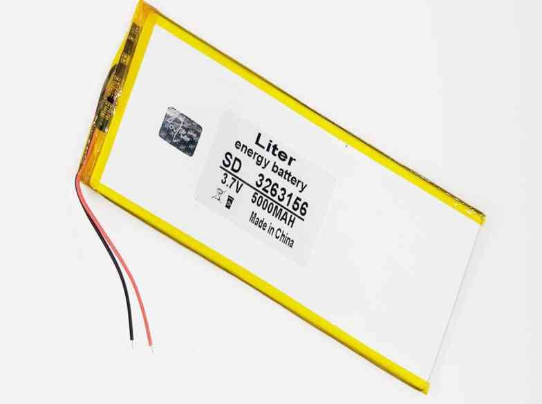 3.7v 5000mah Rechargeable Li-ion Battery