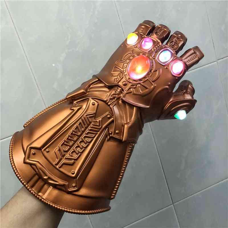 1:1 Led Light Gauntlet War Cosplay Gloves