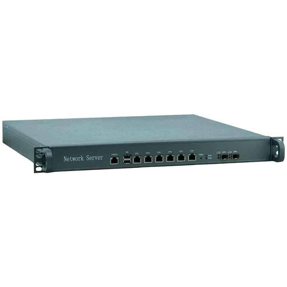 6-gigabit Ethernet Port, Atx Power Support, Intel Processor, Network Router