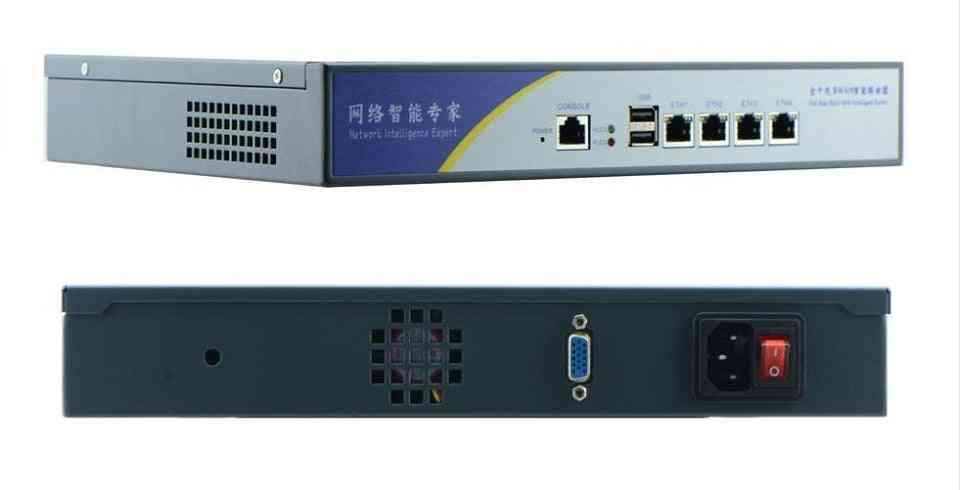 Home Server, Mini Pc With 4-lan Firewall, Onboard Desktop, Network Lan