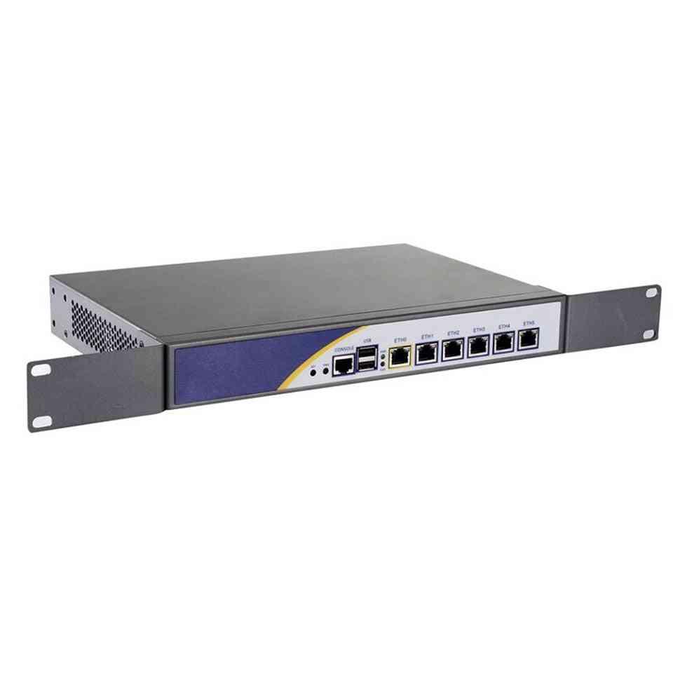 Firewall Server With Celeron Low-power, Cpu Support, Pfsense Panabit Wayos