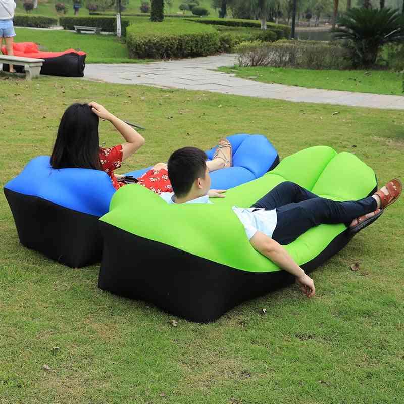 Inflatable Air Sofa Beach Bed Lounger Bags