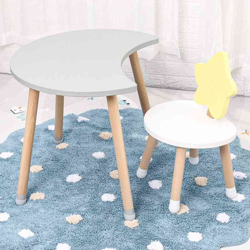 Children Room Solid Wood Tables And Chairs For Kindergarten Kids
