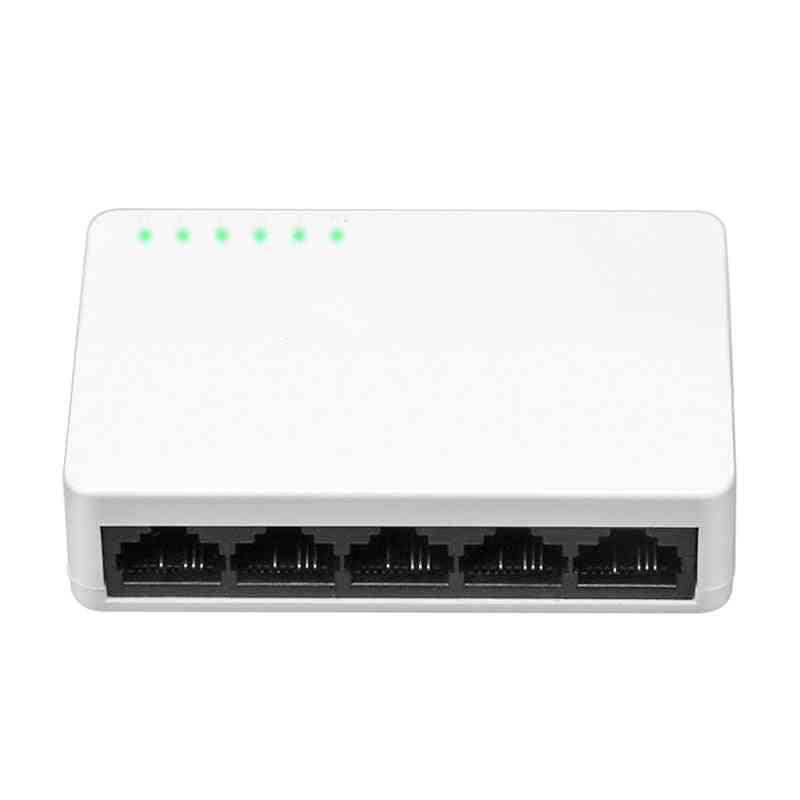 5 Port 10/100mbps Fast Ethernet Network Switch Lan Hub