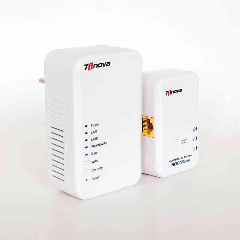 Wireless/wired Speed Homeplug Av, Ethernet Adapter Wifi Hotspots Router