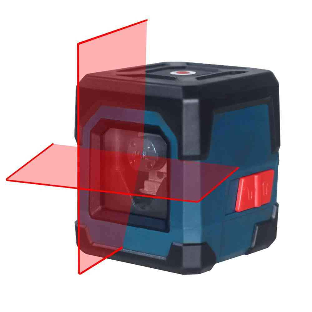 Lv1- Level Cross Line Laser With Measuring Range, Vertical & Horizontal